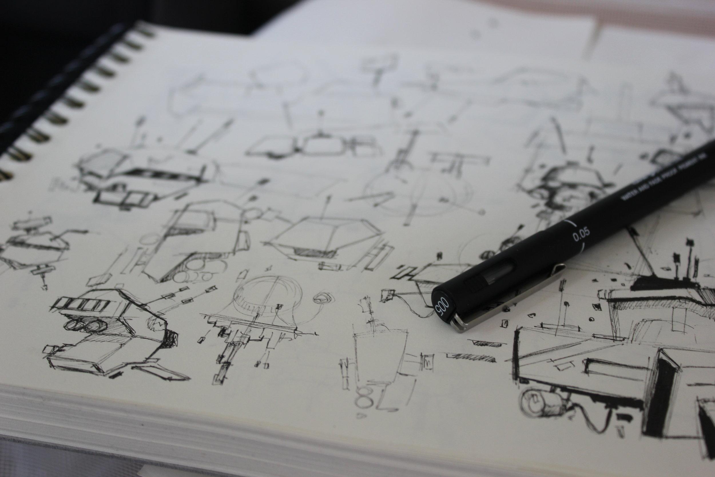 Original drawings -