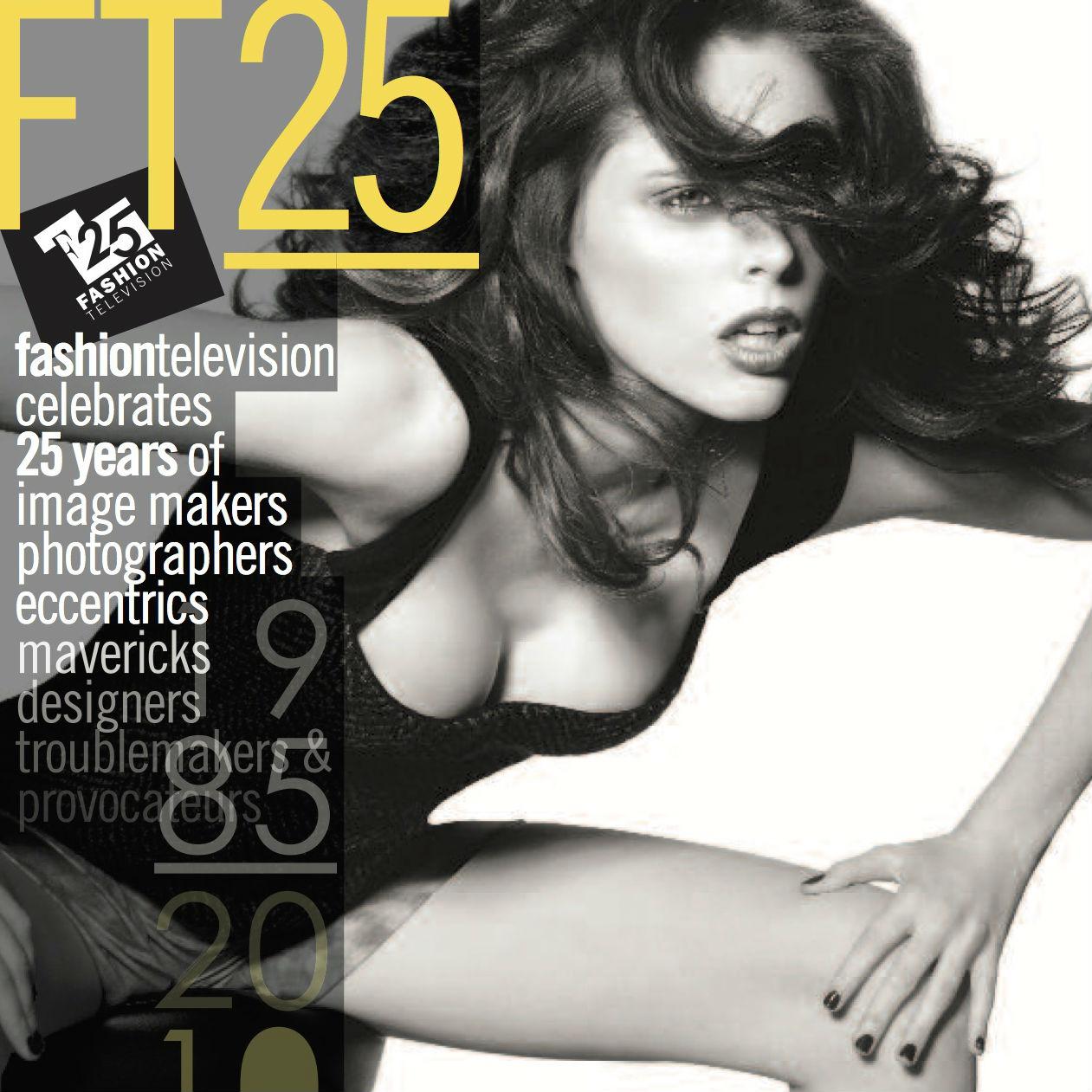 FASHION TELEVISION 25:  Mini Designer Profiles   A collection of  12 fashion designer  profiles for a magazine published in celebration of Fashion Television's 25th Anniversary.