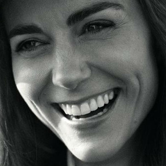 THELOOP.CA:  Can We Talk About Kate's Brows For A Second?   Kate Middleton's first official magazine photoshoot was pretty major—the cover of British Vogue's 100th anniversary issue. You know what else was major? Those eyebrows!