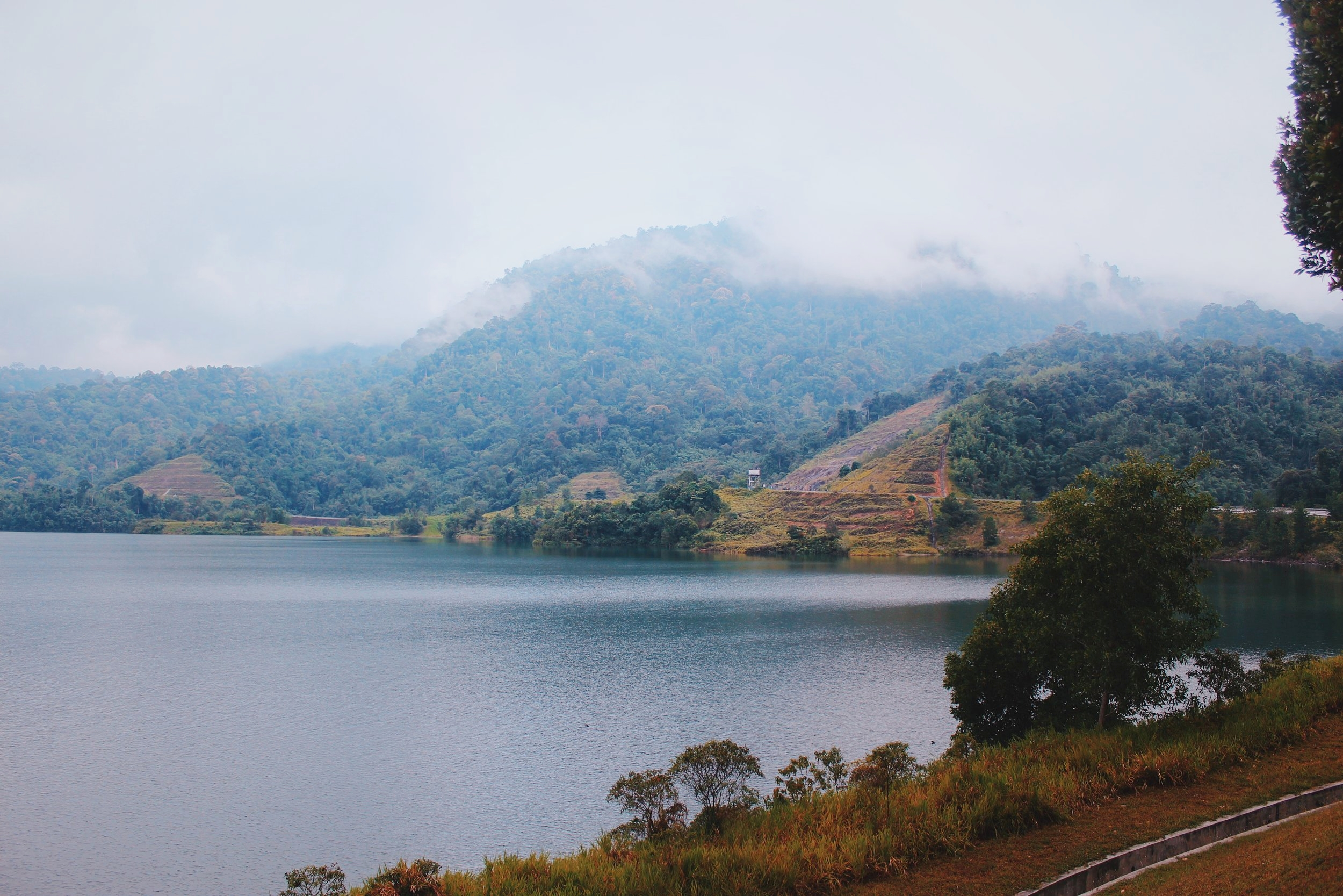 A view next to the Sungai Selangor Dam