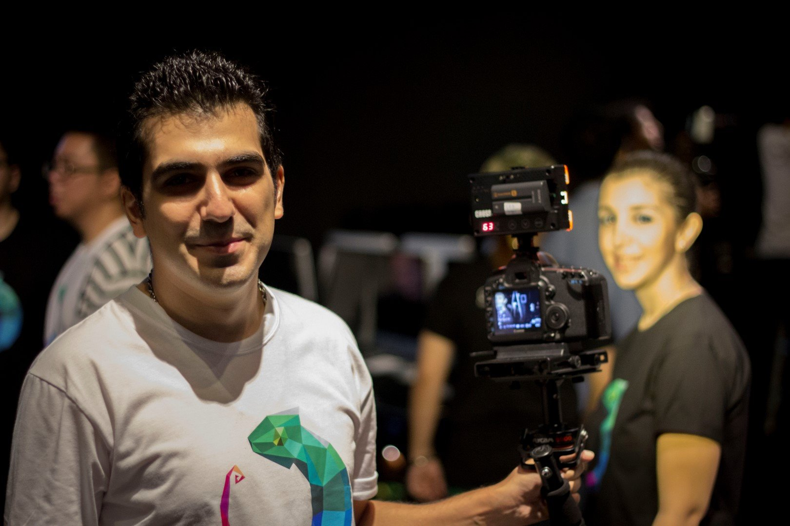 Alisam & Samaneh, the power couple responsible for our amazing video documentaries