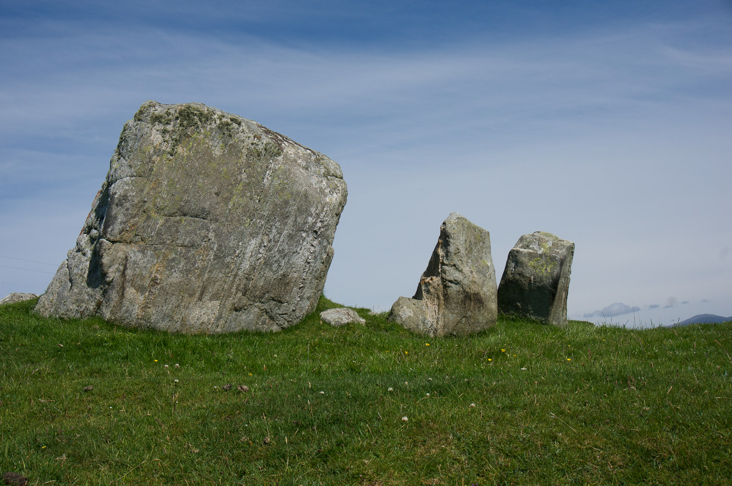 Standing Stones on Sunhill Croft