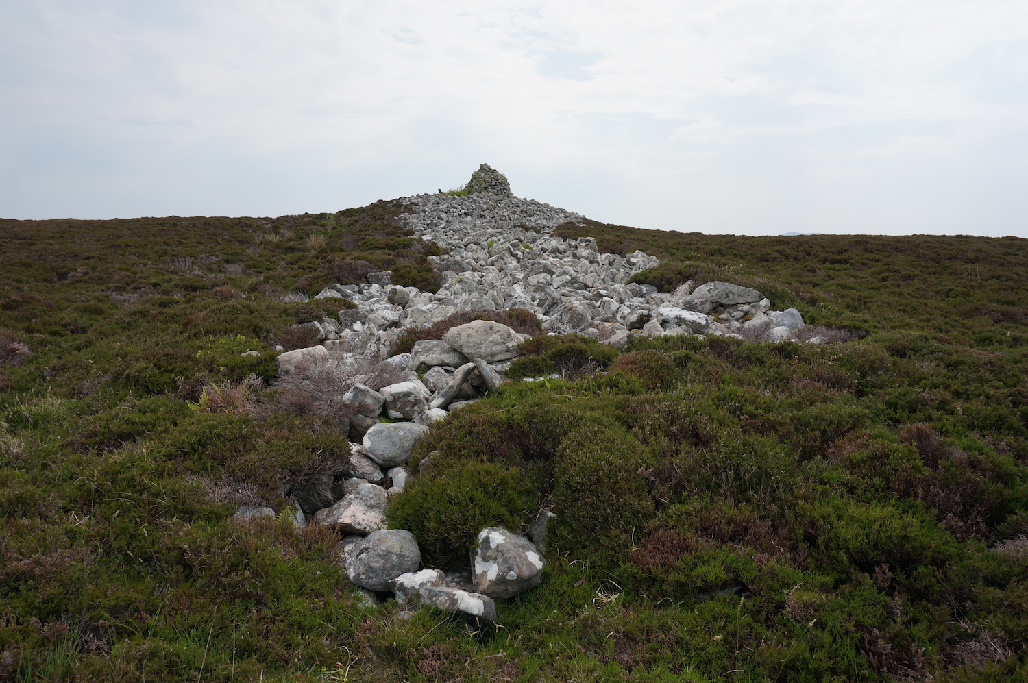 Neolithic Long Chambered Tomb, Langass Moor, North Uist.
