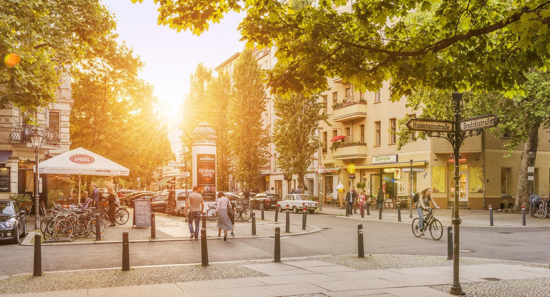 Der Workshop findet in Berlin, in wunderschöner Umgebung in der Winsstraße statt.