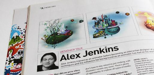 Computer Arts Magazine interview