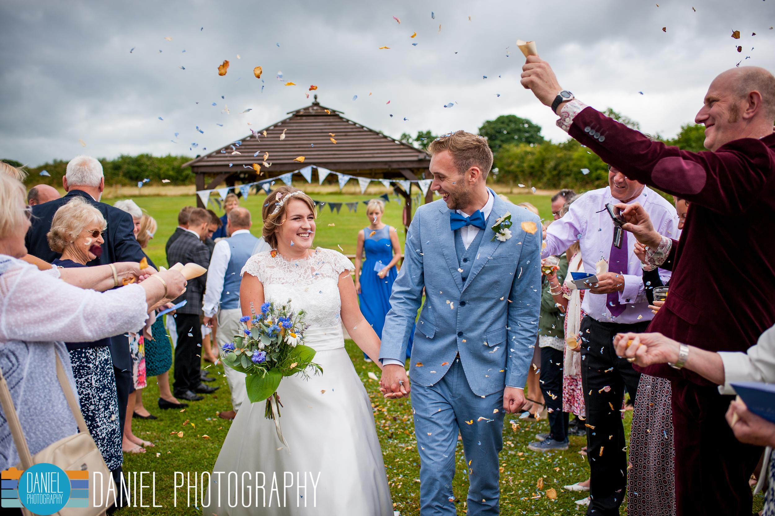 Dorset Wedding Photography, Knowlton Church - Daniel Photography, Hampshire Wedding Photographer