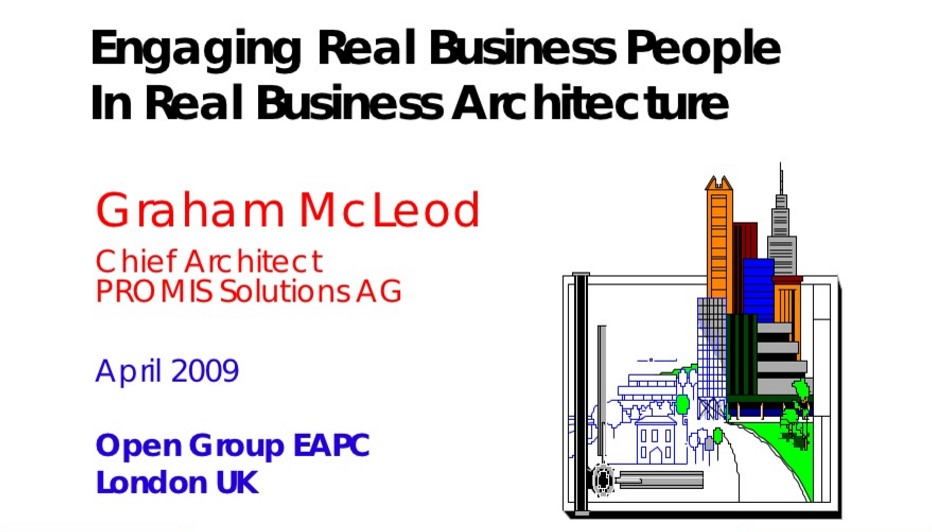 Engaging Real Business People in Real Business Architecture