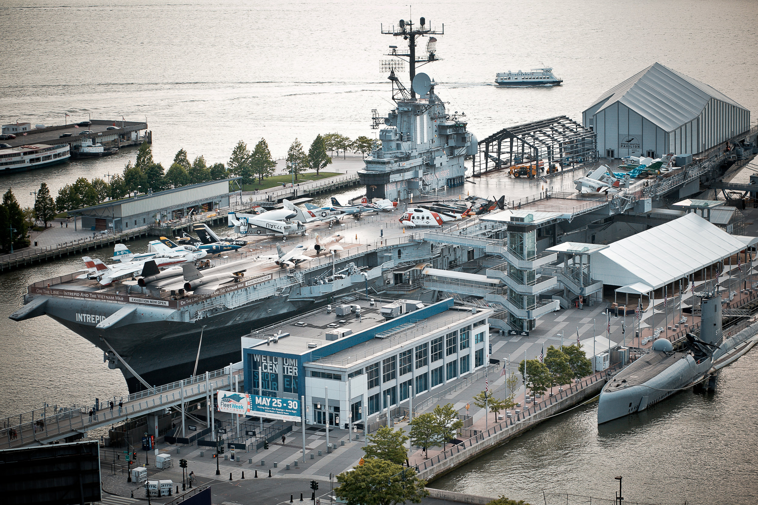 The Intrepid Sea, Air and Space Museum