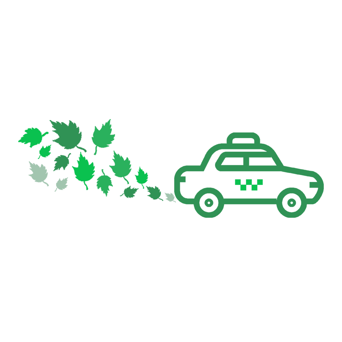 Green your taxi ride
