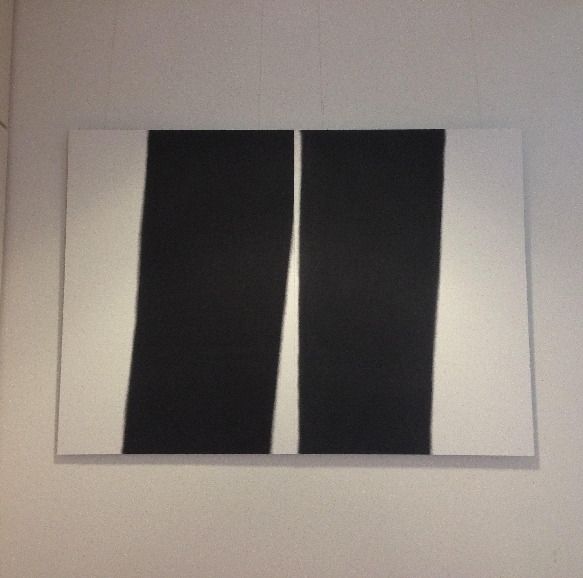 2 A0 pieces hung together (there are 4 of this size in the series). These are limited edition prints and have been mounted on alumiumiun.