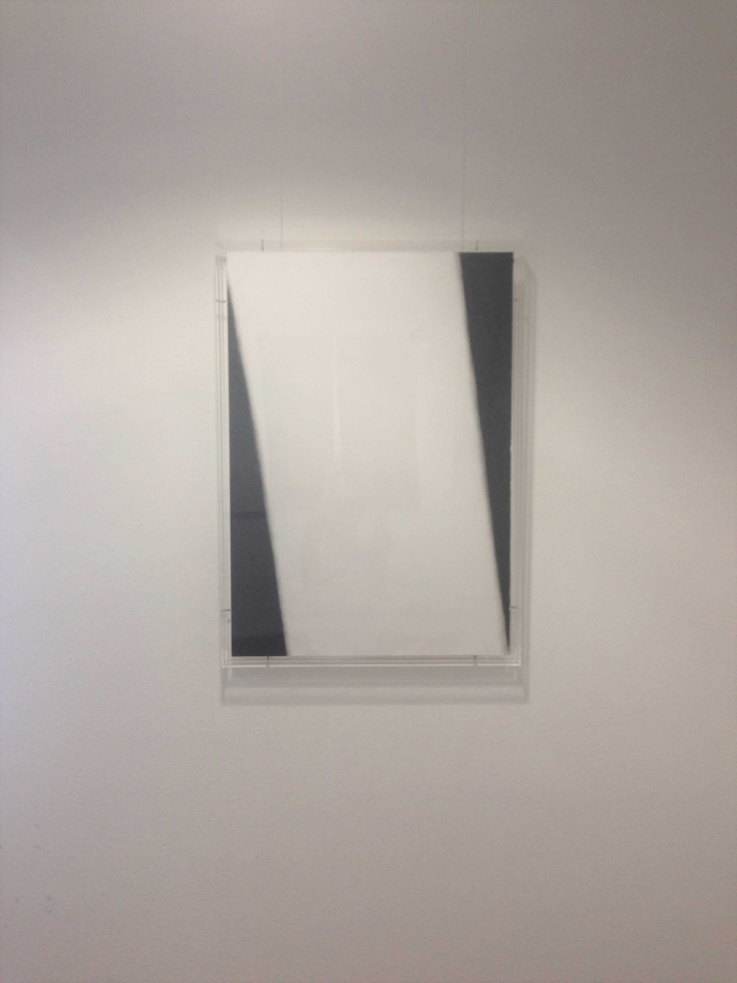 This piece is A1 in size. Its an original - charcoal on cartridge - and has been framed in a perspex box frame.