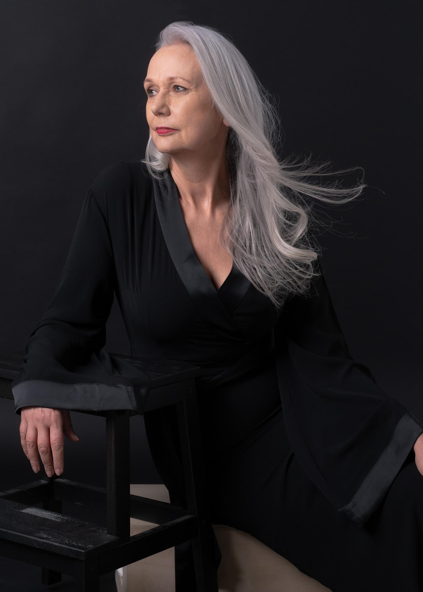 Joanna, The Grey Hair Model