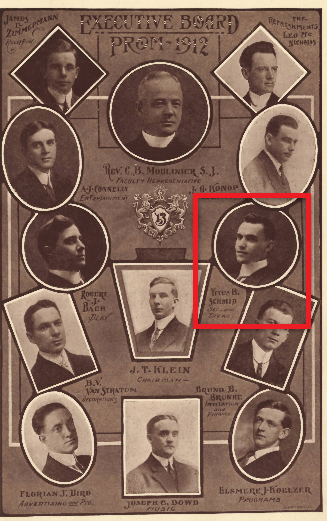 The Executive Board of the 1912 Prom.