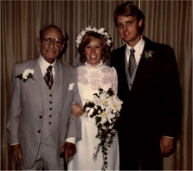 Titus B. Schmid lived long enough to attend the first 3rd generation wedding of Kathy Schmid to Chuck Munson!