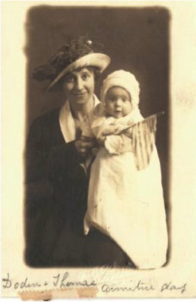 Josephine Doden with son Tom Schmid.png