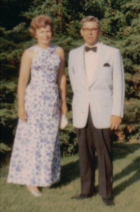 Bette and John Schmid. (Circa 1966)