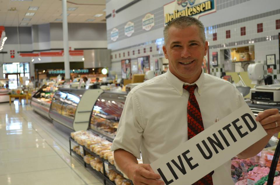 Ivan Price, Manager (Martin's Supermarket in St. Joseph)