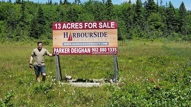 Sometimes it's better to just do it yourself! Signs are up in Sambro.