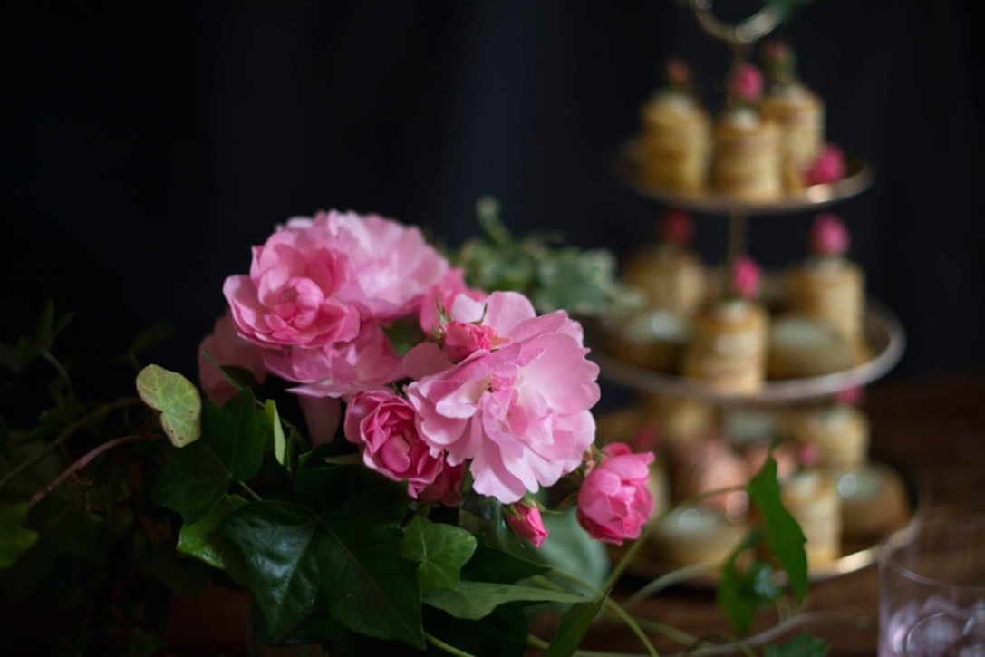 Spring/Summer wedding pâtisserie selection