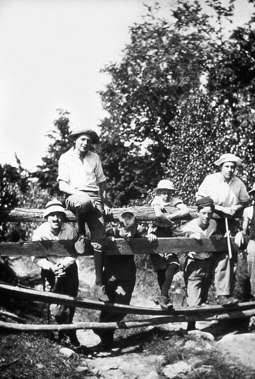 Boys at Wooden Fence.jpg