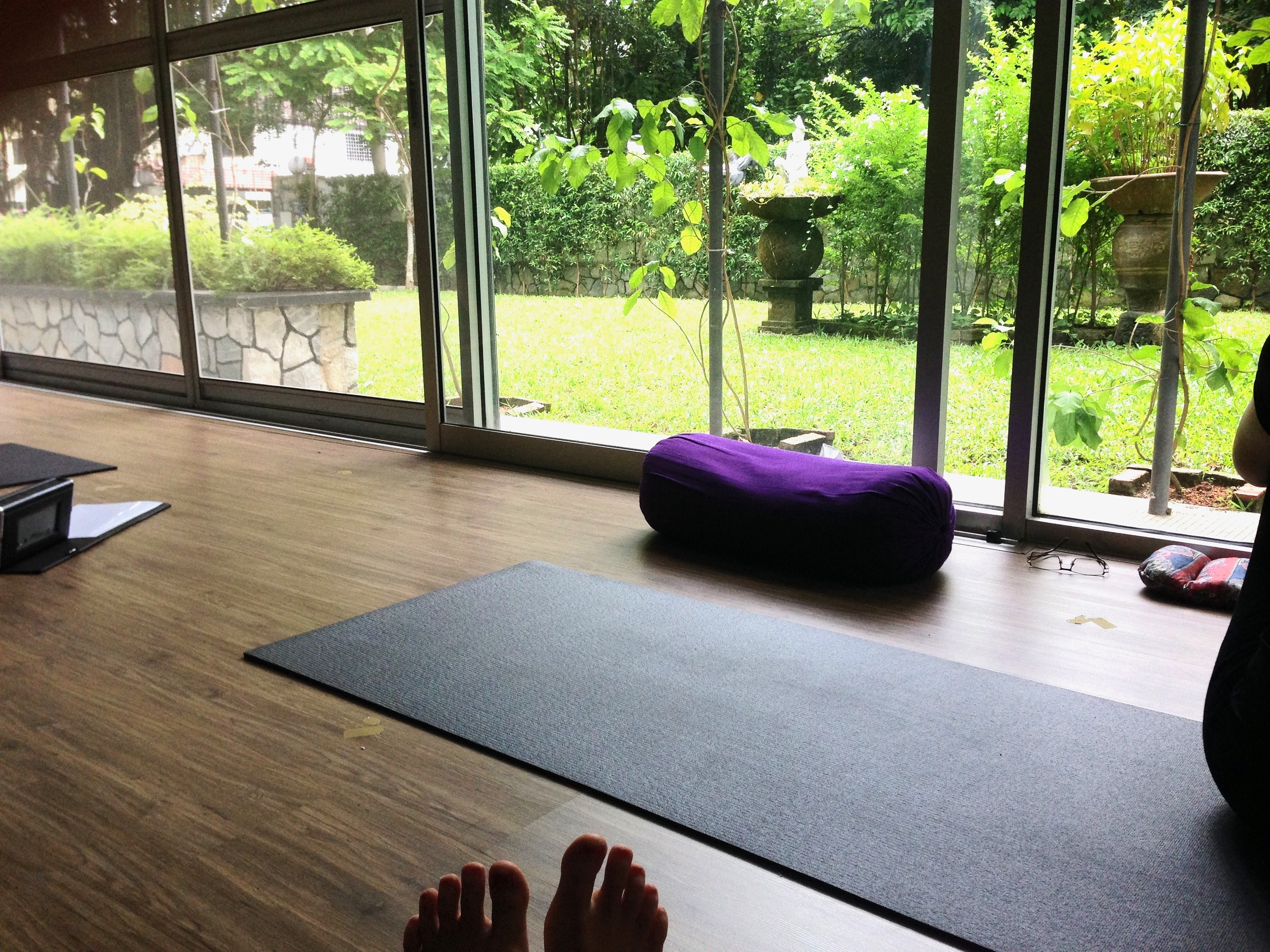 Yogshakti: My home for the next month