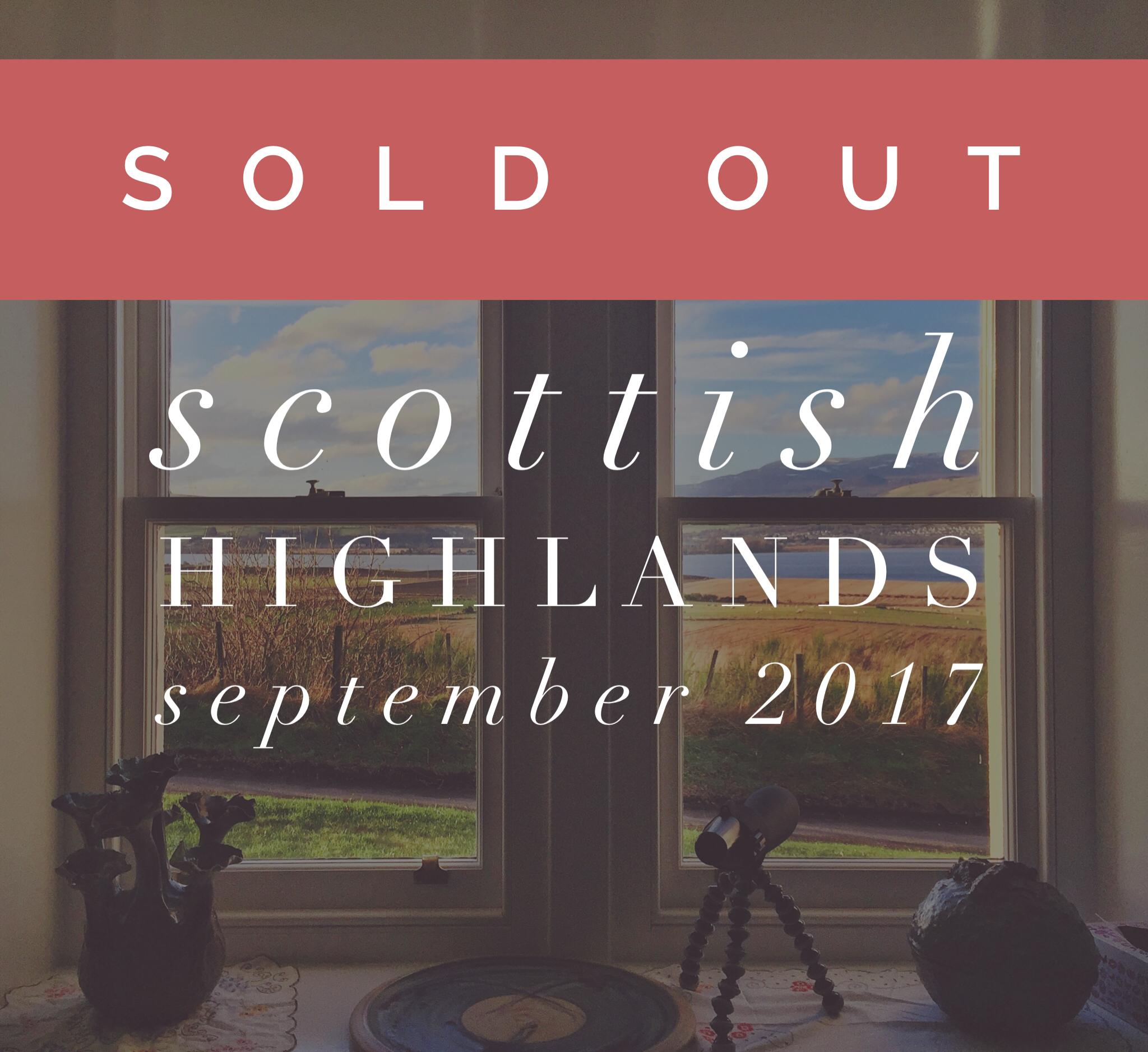 Scottish Highlands vegan yoga retreat - Scotland, September 2017 - all-inclusive - UK wellness holiday