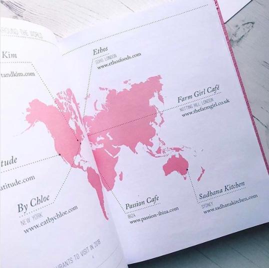 Favourite spots for vegan food around the world  (Image from    ThreeSixFive   )