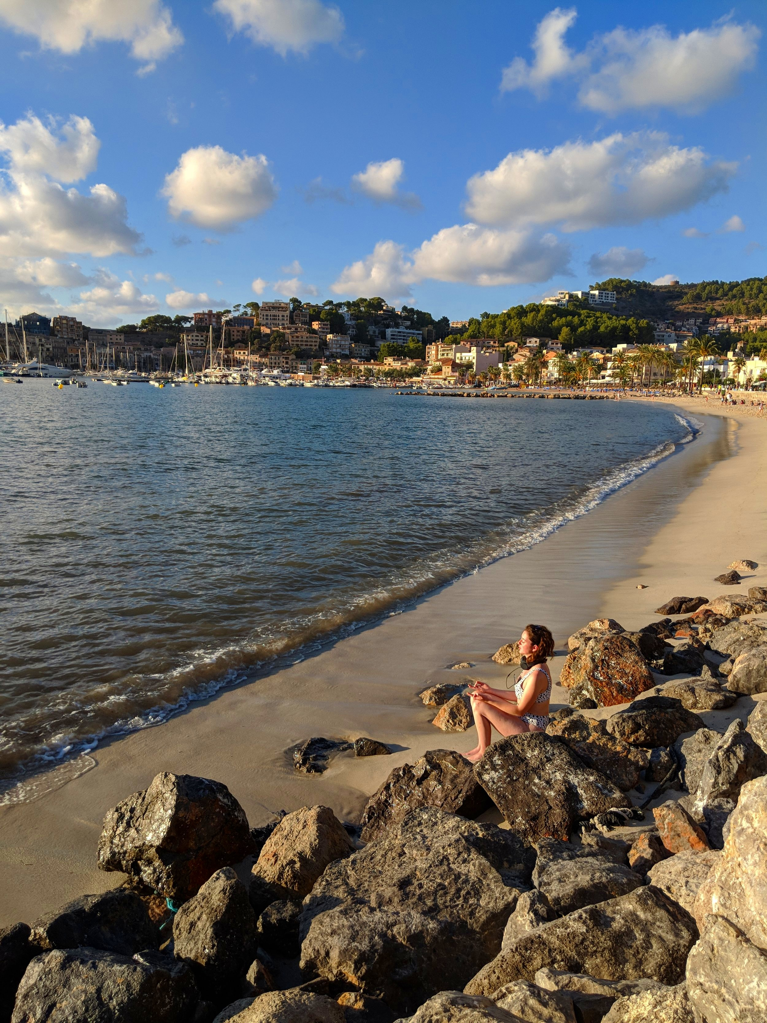 Mallorca: Port de Sóller trip, vegan travel review (with baby)