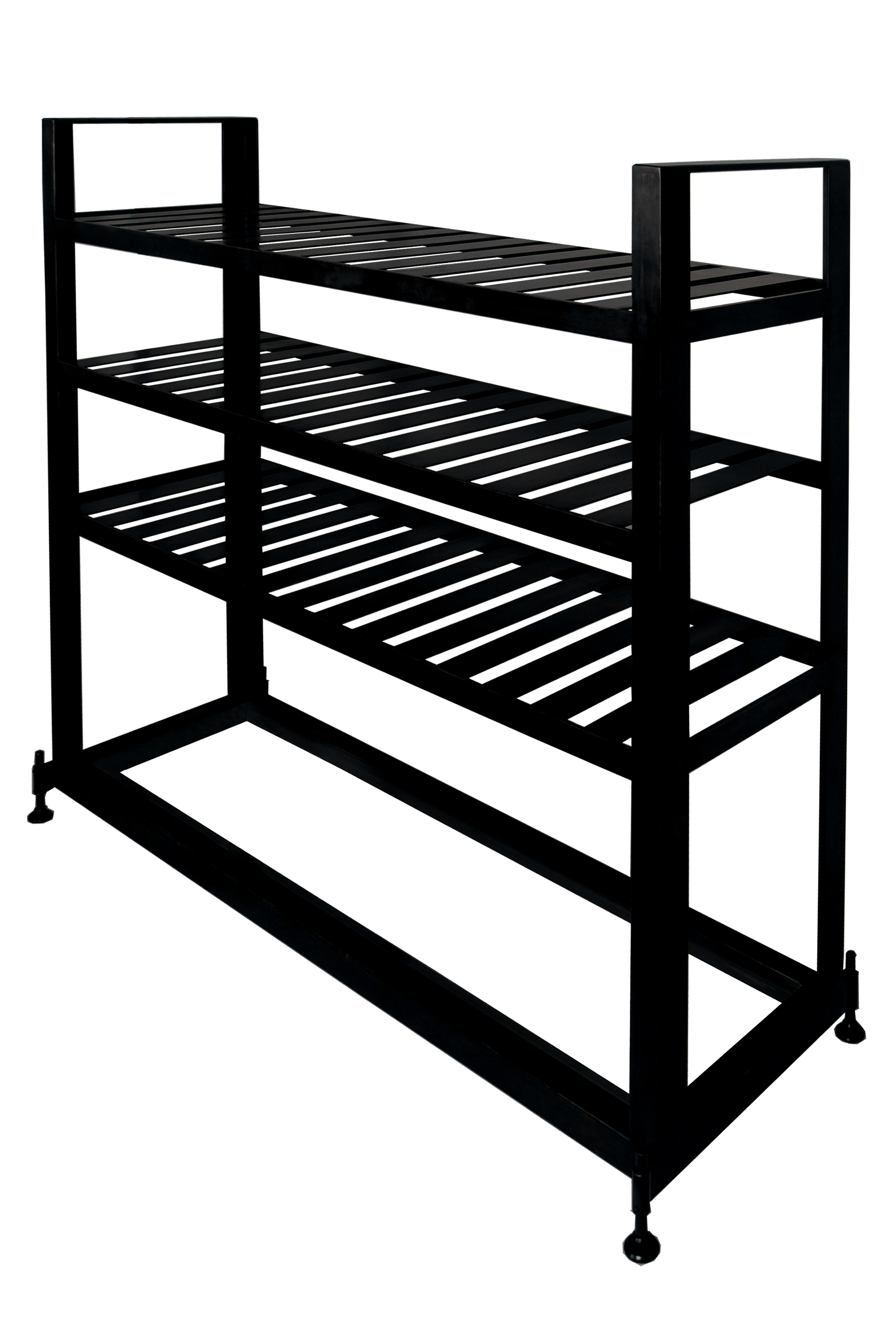 Glass & Steel Bakers Rack
