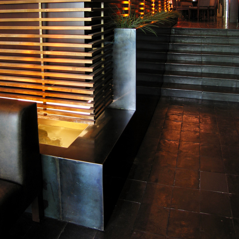 Copy of architectural metal works restaurant