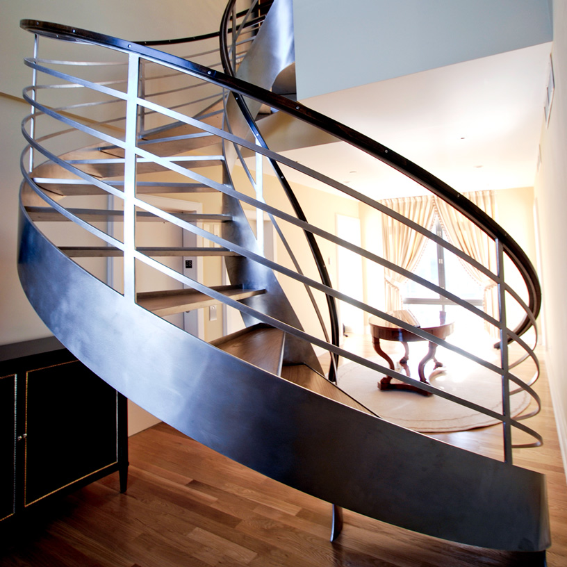 Copy of architectural metal work Staircase