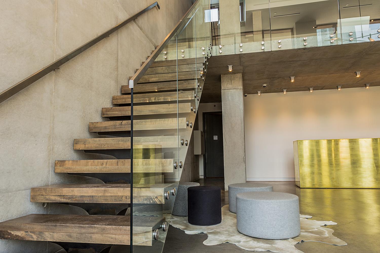Jackson Ave Lobby — Custom Metal Fabrication in Brooklyn NYC