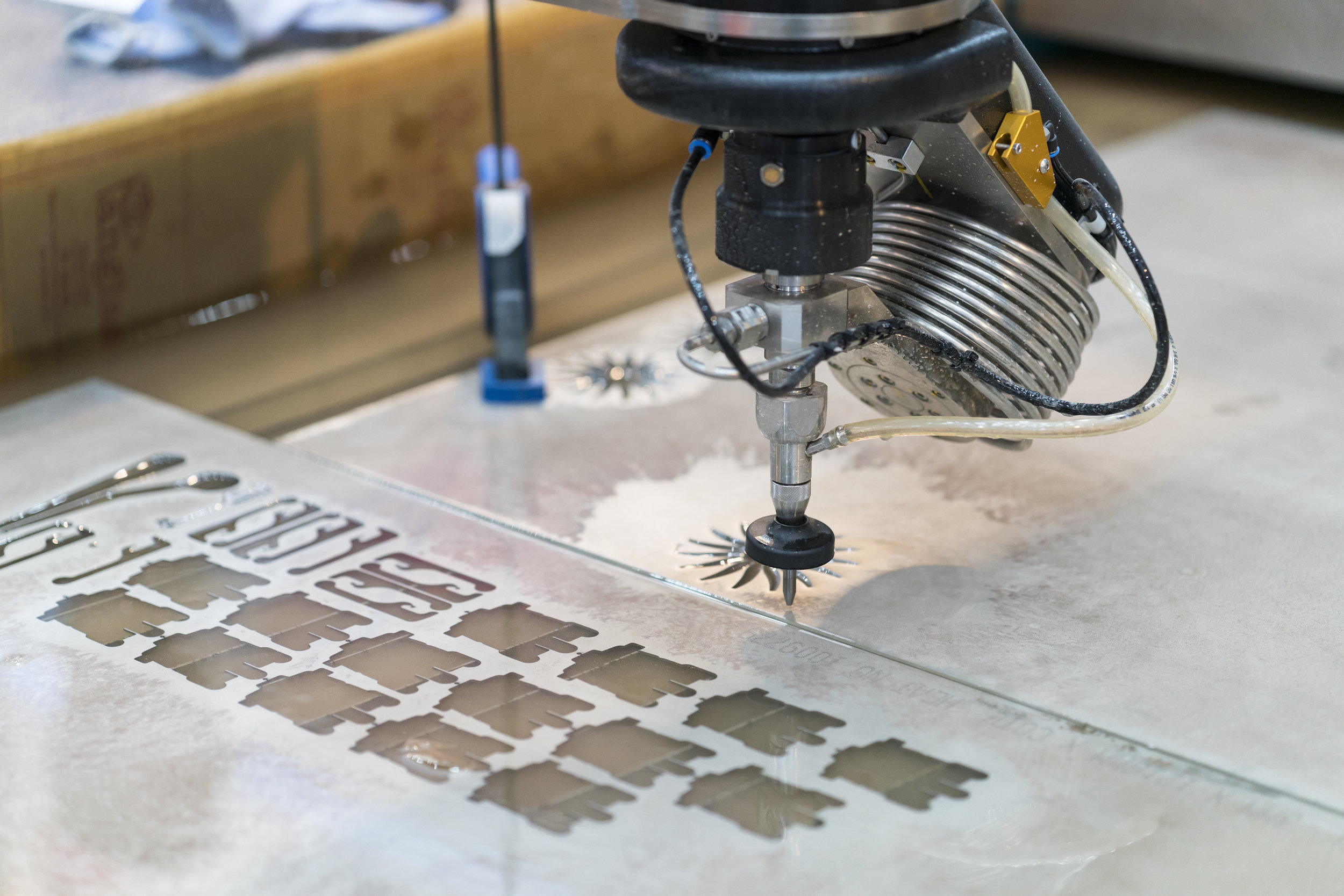 CNC Water Jet 5 Axis