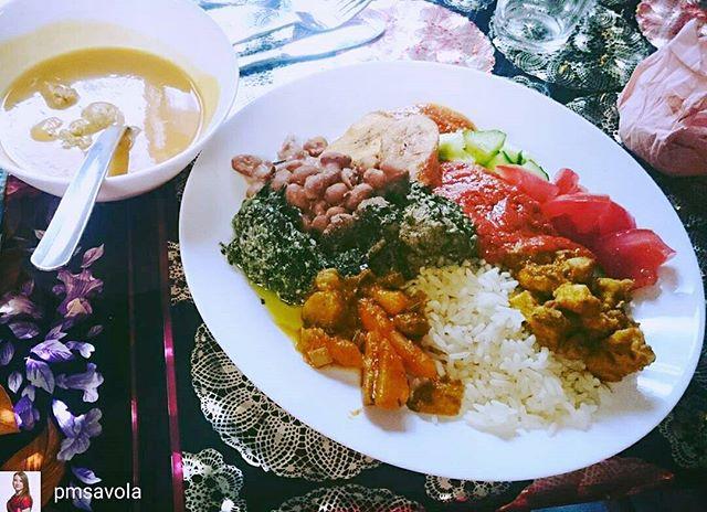 Wonderful picture of African Pots food! Hieno kuva African Potsin kasvistarjonnasta. Thanks! @pmsavola #food #vegetarian #vegan #restaurant #helsinki #finland #ravintola #africanpots #instafood #blog #fitness