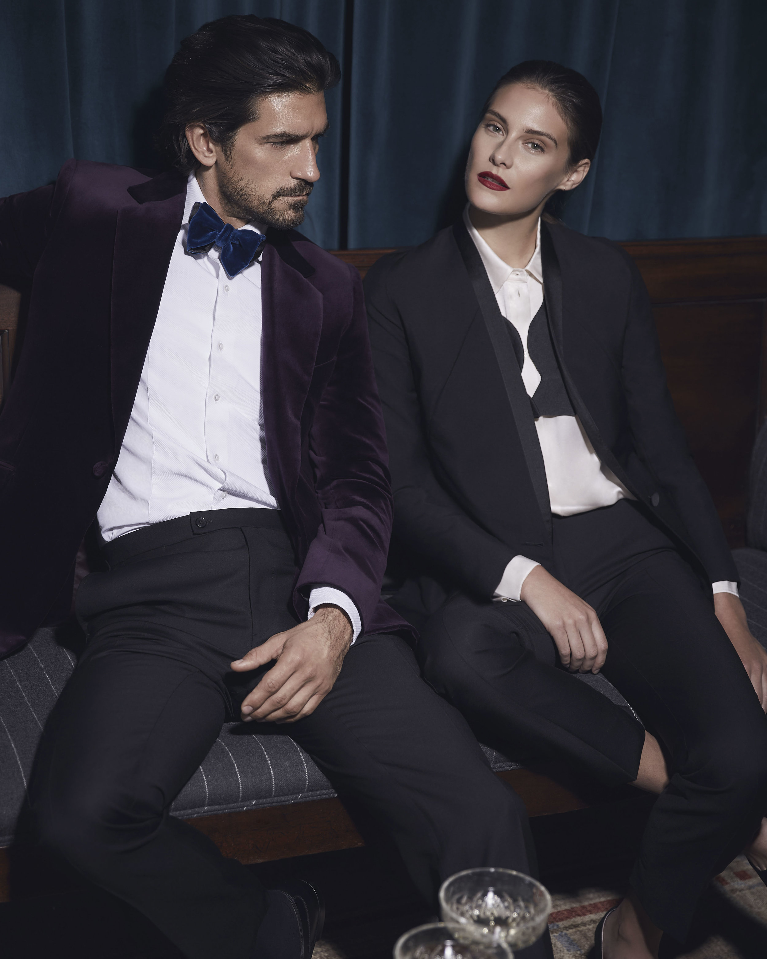 Huntsman - eveningwear, aw18 -