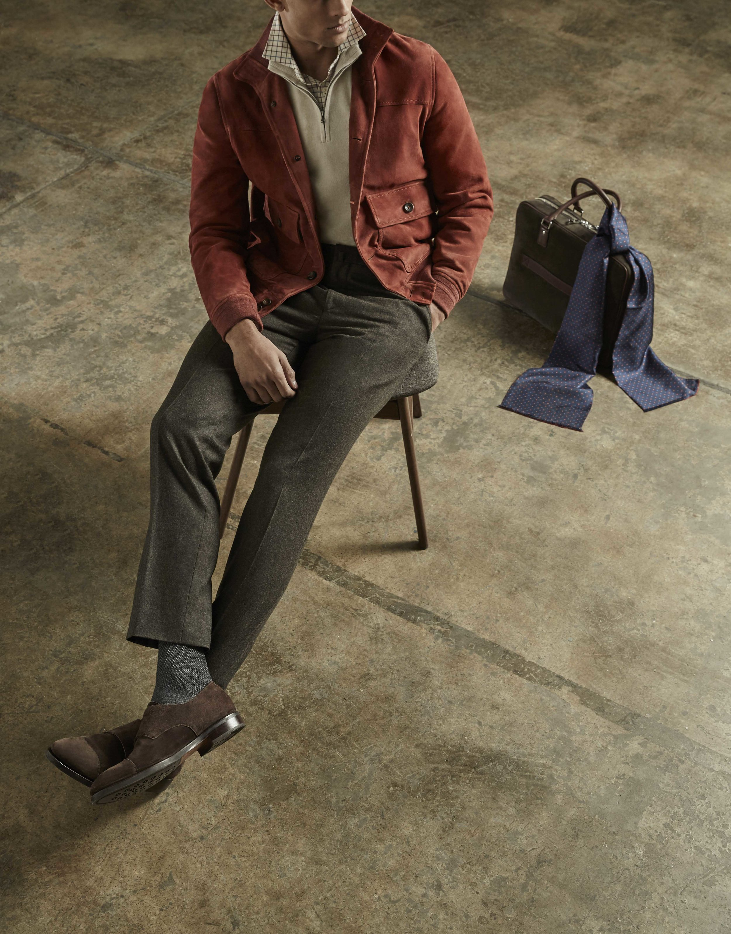 Hackett - wool week -