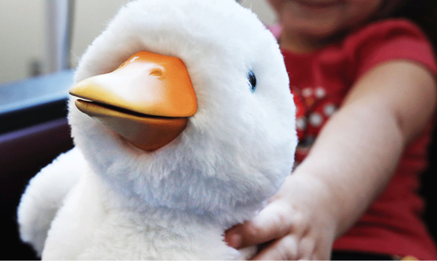 My Special Aflac Duck with patient