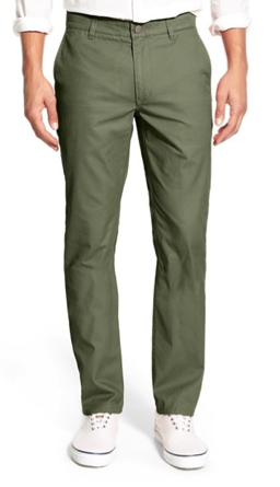 Bonobos Straight Fit Washed Cotton Chino