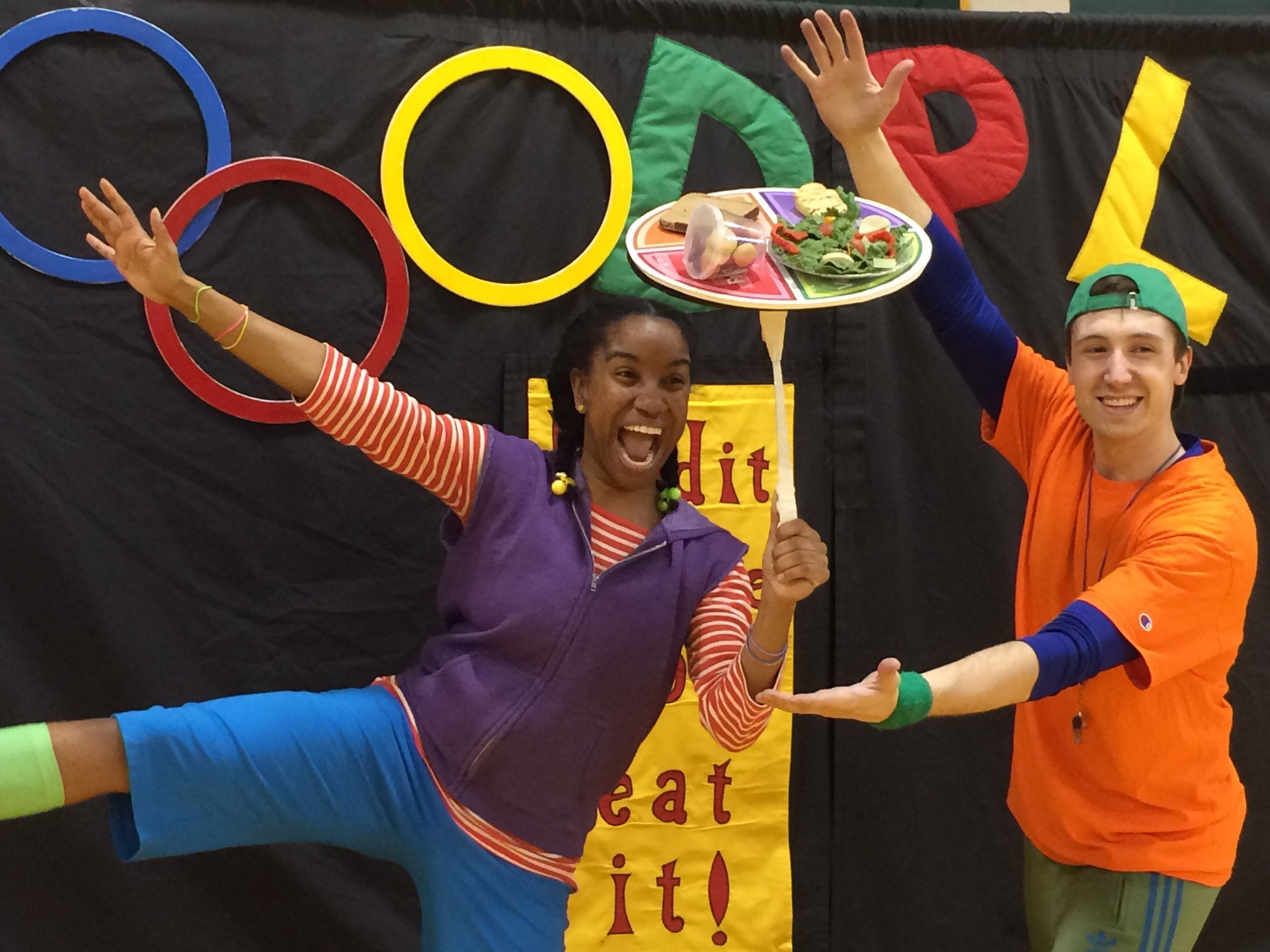 I'm on Tour - Juggling, eating, and dancing are few my favorite things and that's exactly what I get to do is this show as Janey! I'm training to become a master at juggling a healthy lifestyle in FoodPlay.Come Join Coach and Janey on this adventure across country. Check out where will be next HERE