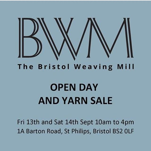 We're having a couple of open days at the mill this weekend! Friday and saturday, all welcome to come and look around. There is also ALOT of yarn we are selling off. 🧵🧵🧵#bristolopendoors #britishmill
