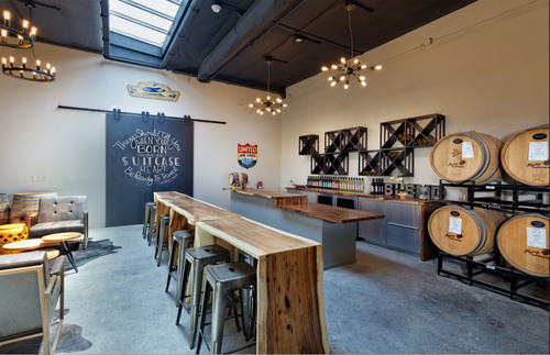 Flying Suitcase Wine Winery Tasting