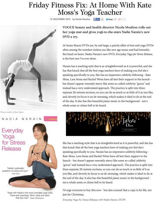 Vogue: Dec 2014