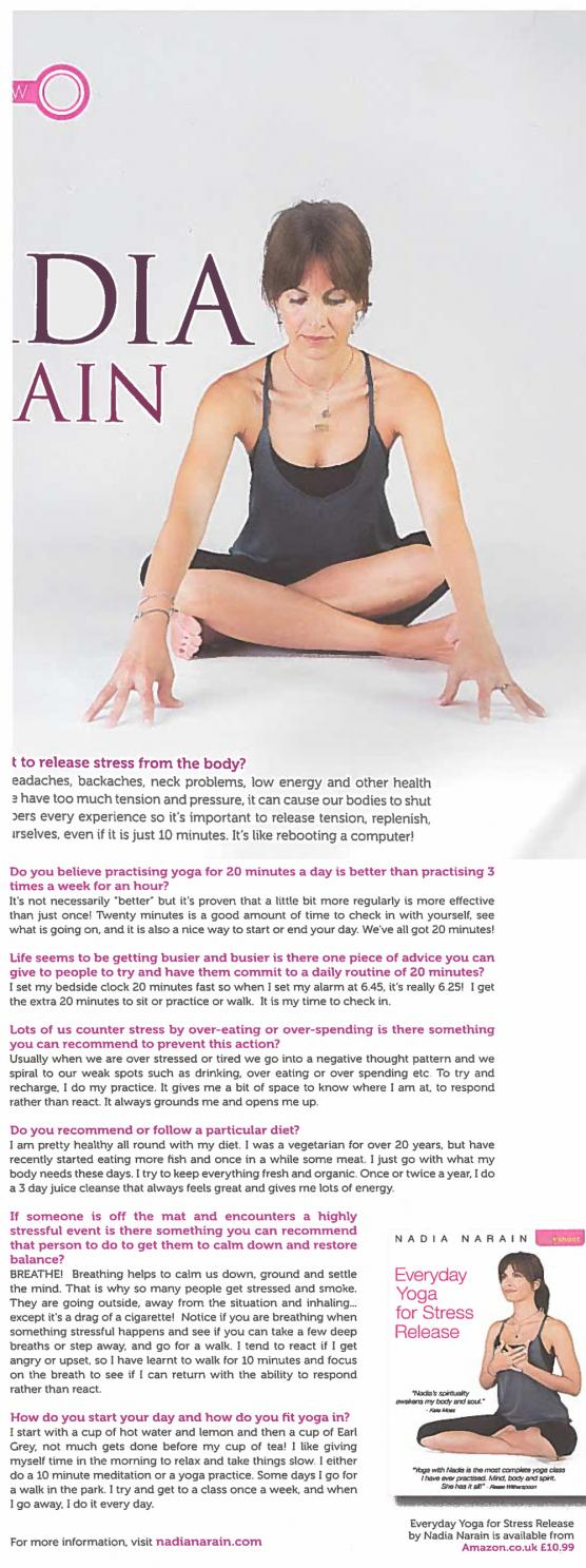 Yoga Magazine: Dec 2014