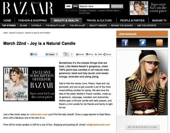 Harper's Bazaar: Mar 2012