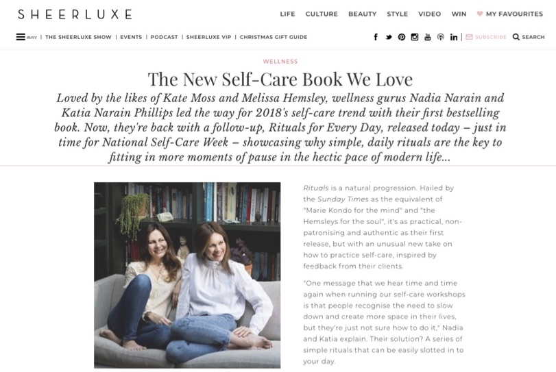 Sheerluxe: Nov 2018