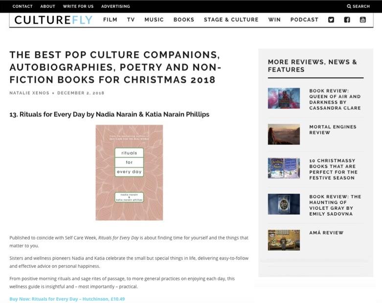 Culturefly: Dec 2018
