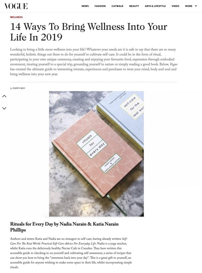 Vogue: Dec 2018
