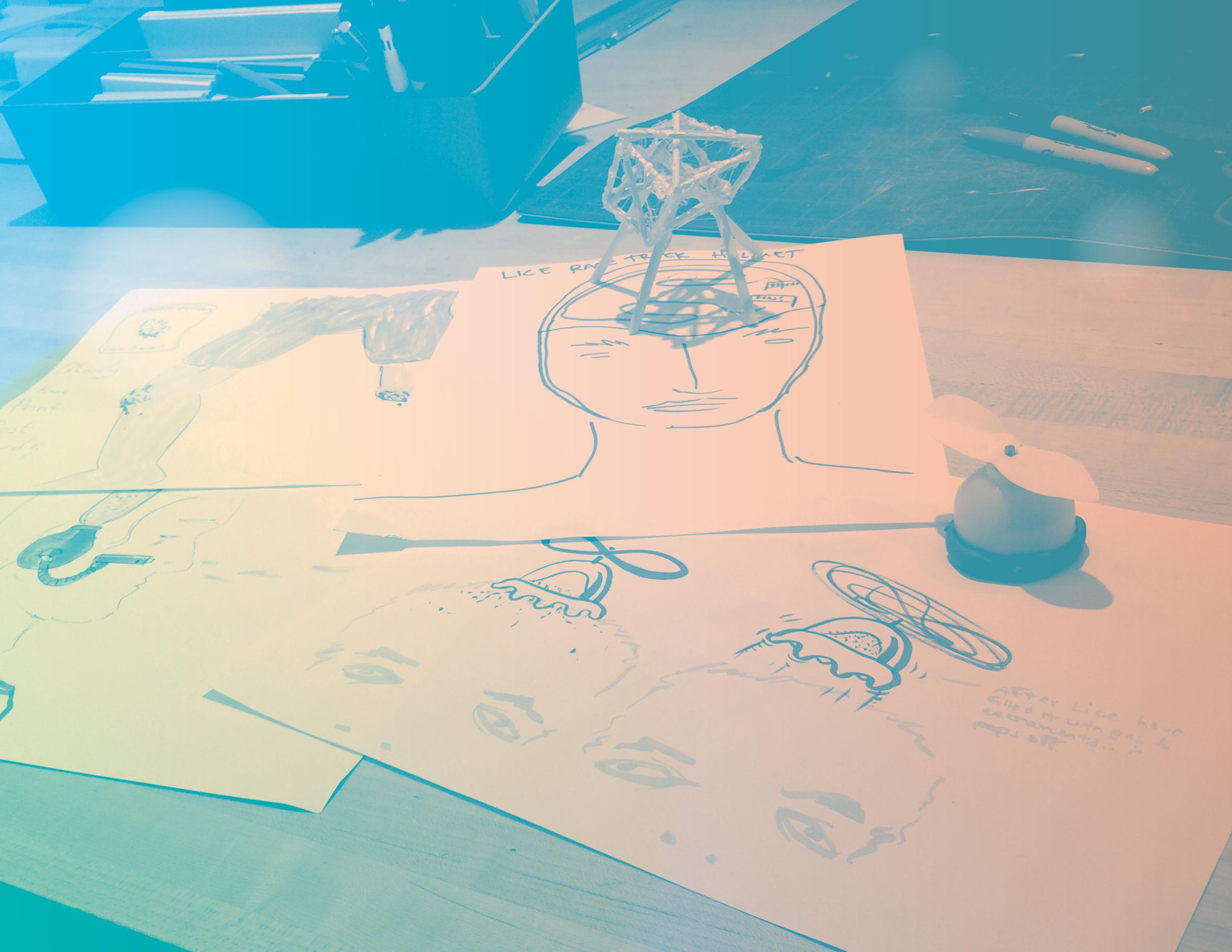 Drawings and models from pre-Phantasy Pharmacy SASU.