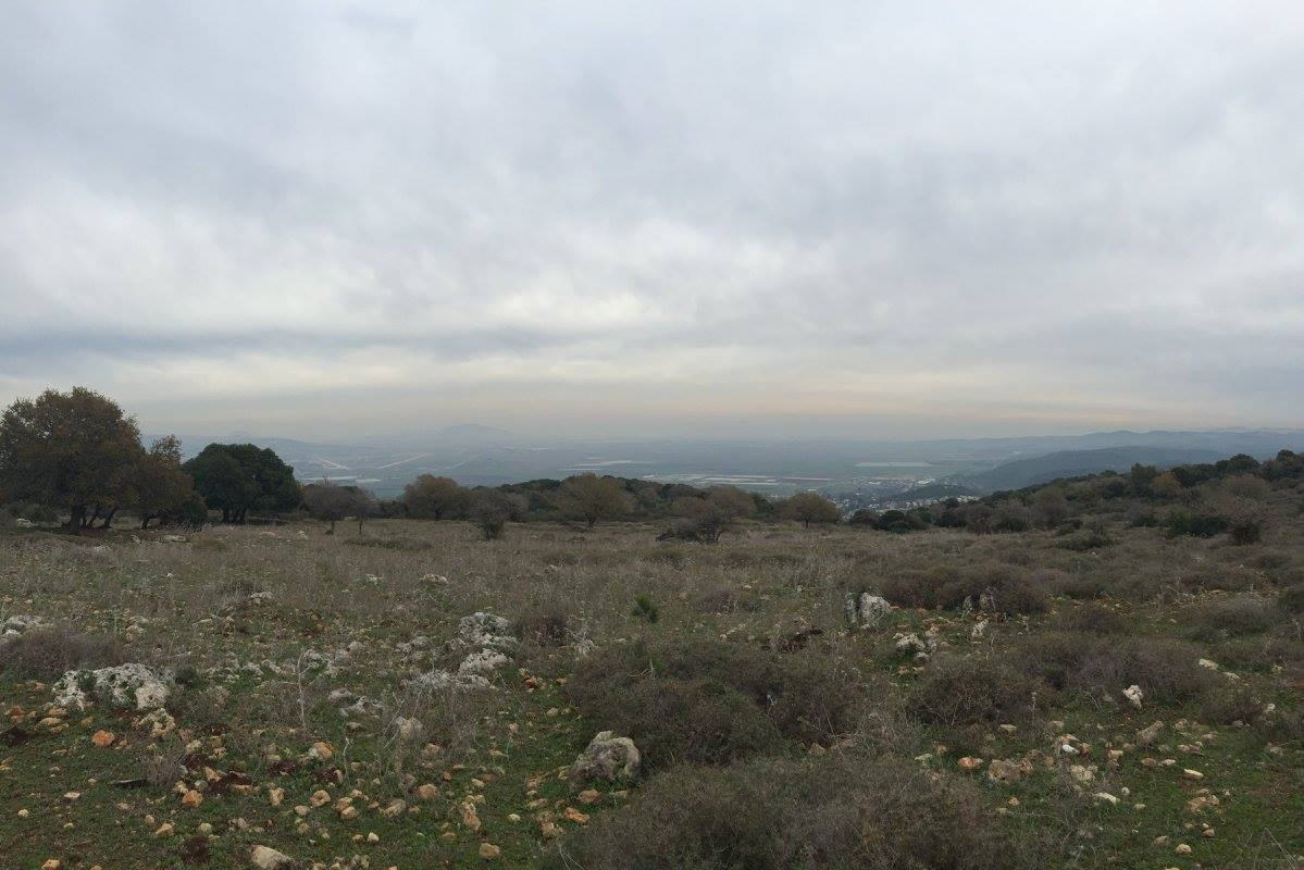 From Caleb's recent trip to Israel, taken on top of Mt. Carmel.