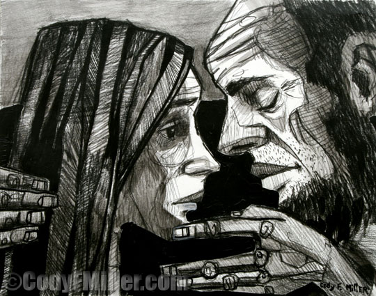 Artwork by Cody F. Miller. His work can be found at www.codyfmiller.com